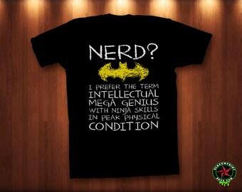 Batman Nerd Shirt