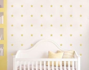 Little stars, geometrical figures wall decal