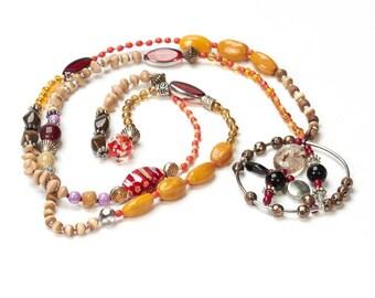 Necklace, long necklace, necklace