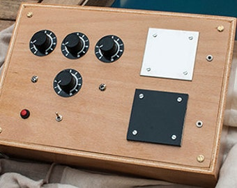 3 dials Radionics and oscillator frequency machine