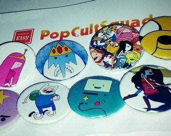 Adventure Time Badges (8)