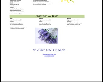 Natural and organic skin care