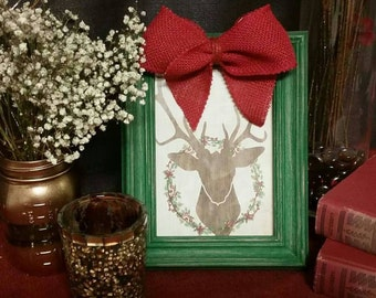 Custom Hand Painted Distressed Wood Frames