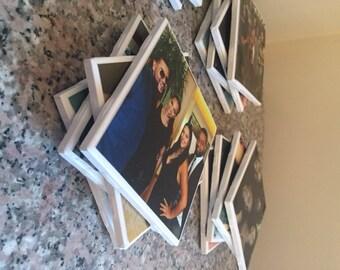 Personalized Photo Coasters - Set of 4