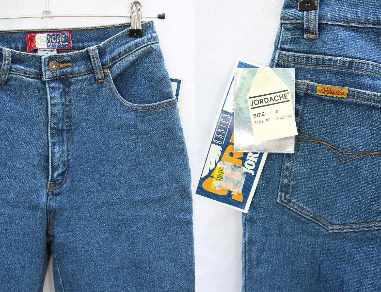 Vintage Jordache Jeans Stretch Nwt High Waist By