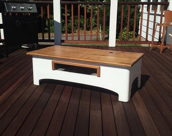 Antique Cookstove TV stand