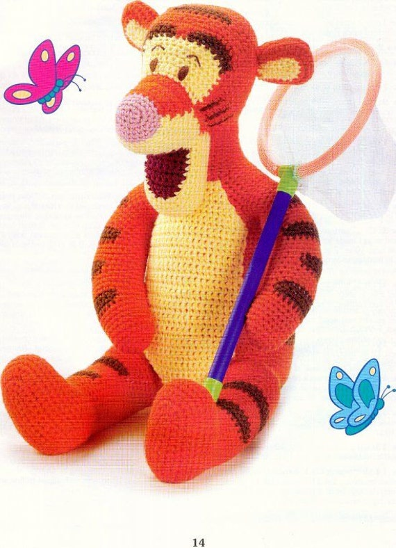 Pooh & friends crochet patterns, winnie the pooh, eeyore pattern, soft to...