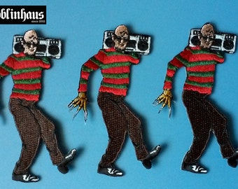 FREDDY KRUEGER Embroidered PATCH - 80s Horror, Slasher - A Nightmare on Elm Street / Wes Craven