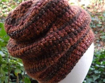 Crocheted Very Slouchy Hat