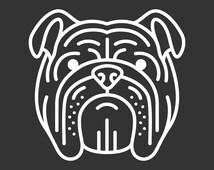 English Bulldog Decal