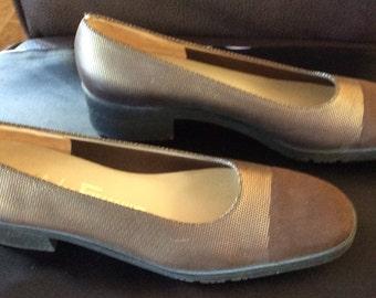 Salvadore Ferragamo Walking Shoes 9 AA