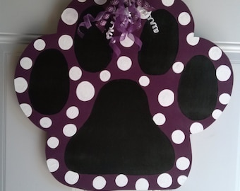 Dog Paw Door Hanger