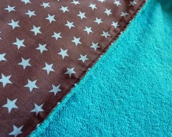 Bathcape/shawl/wrap cloth Blue Star