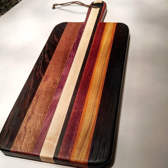 Unique Cutting Board With Handle