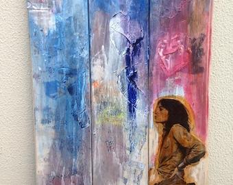 Patti Smith Painting