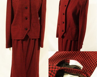 1970s Nina Ricci Skirt Suit