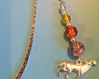 Howling wolf bookmark - perfect for Twilight fans!