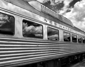 New Haven Railroad Passenger train at the Danbury Railway Museum
