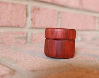 Rosewood Lidded Box