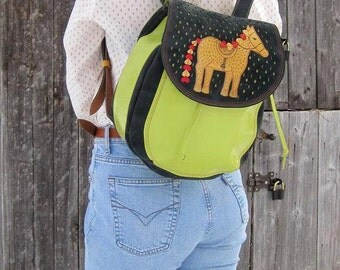 Сolored Backpack, Leather Backpack, colorful backpack, backpack toy, college backpack, School Backpack, Leather Rucksack