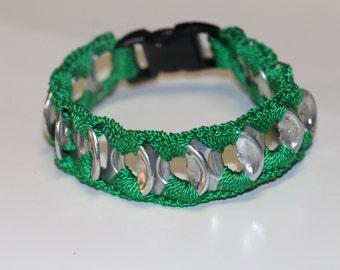 Green Pop tab bracelet