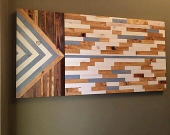 Wall Art - Wood Wall Art - Rustic - FREE SHIPPING