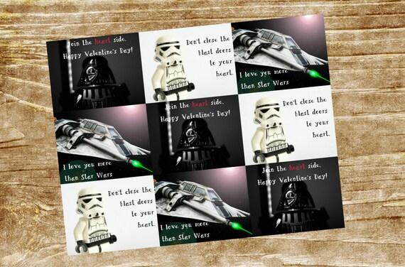 Childrens Valentineu0027s Day Card, Star Wars Valentines, Star Wars Kids  Valentines, Star Wars Gifts, Star Wars Childrens Valentines, Darth Vader  This Is An ...