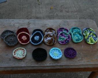Crochet Dish Scrubbie // Crochet Face Scrubbie // 100% Cotton Crochet Kitchen Scrubber