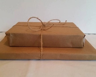 Gift Wrap any Purchase Natural Wrapping Paper, Earthy