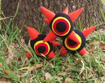 Set of 3 Morth Plushies from the Legend of Zelda