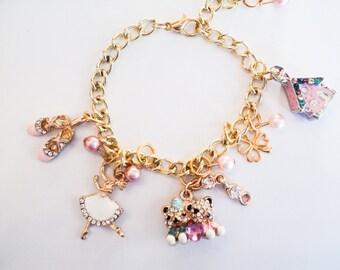 Teddy Bear Ballerina Bracelet