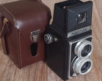French camera mid century Kinax Kinaflex collection