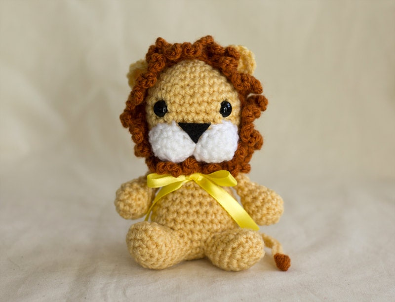 Little Amigurumi Lion : Lion Crochet Pattern Amigurumi