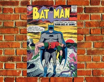 Batman Comic Book Cover Poster - #0713
