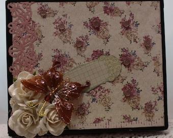 Butterfly Album in a Box