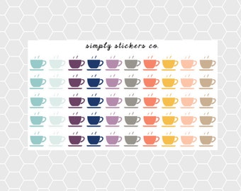 Coffee/Tea Planner Stickers