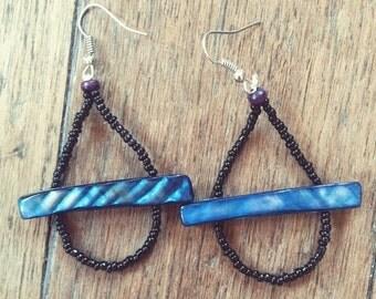 Dangling Earrings in Waterdrop