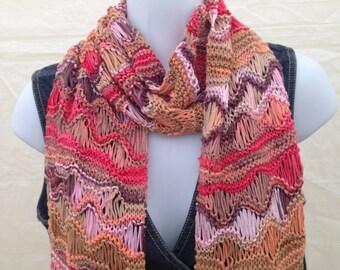 Knit Cotton Scarf