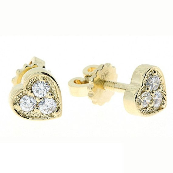 Creative Timeless Gold And Diamond Earrings For Women Fascinating Diamonds