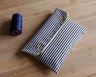 Pocket diaper - marine and yellow - umbrella - Pocket diaper - changing mat Nomad