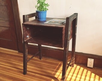 Rugged End Table