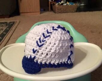 Infant baseball beanie