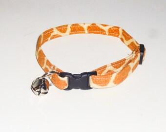 Breakaway Kitten Collar - Giraffe