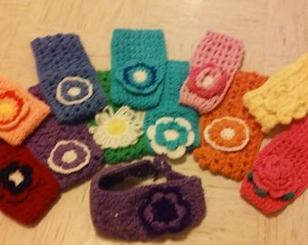 Crocheted headwraps