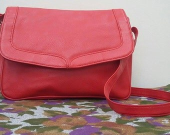 Vintage Red Handbag