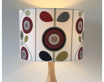 "30cm /  12"" Scandi Drum Lampshade,  Lightshade, Modern Lightshade"