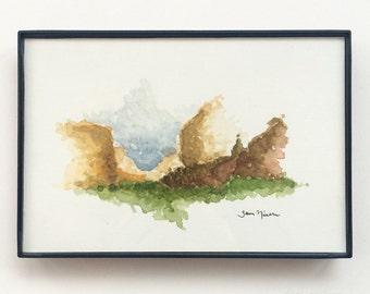 4x6 Watercolor Landscape