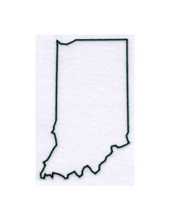 Indiana Stencil Made From 4 Ply Mat Board By