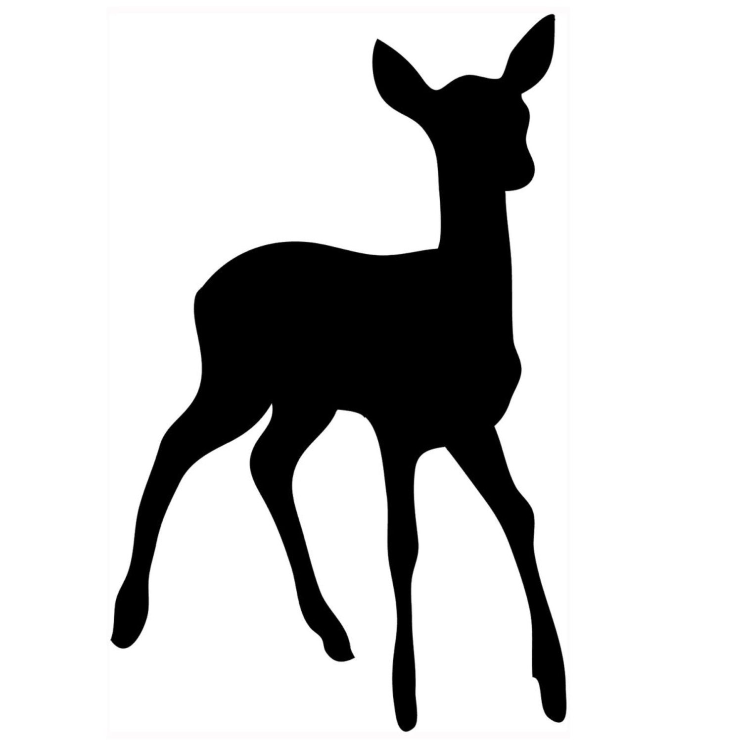 Doe Baby Deer Stencil Made From 4 Ply Mat Board
