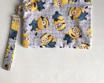 Minions zipper pouch